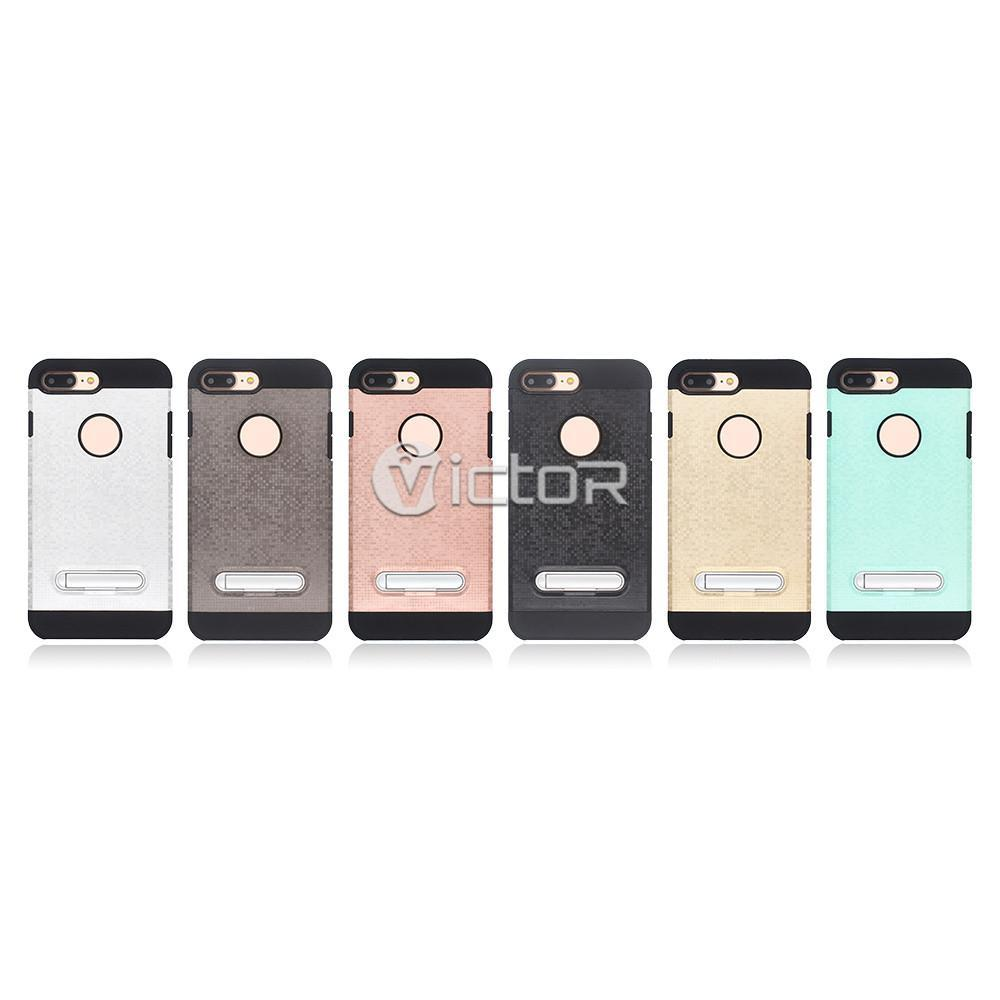 7 plus case - case with stand - combo case - (9)