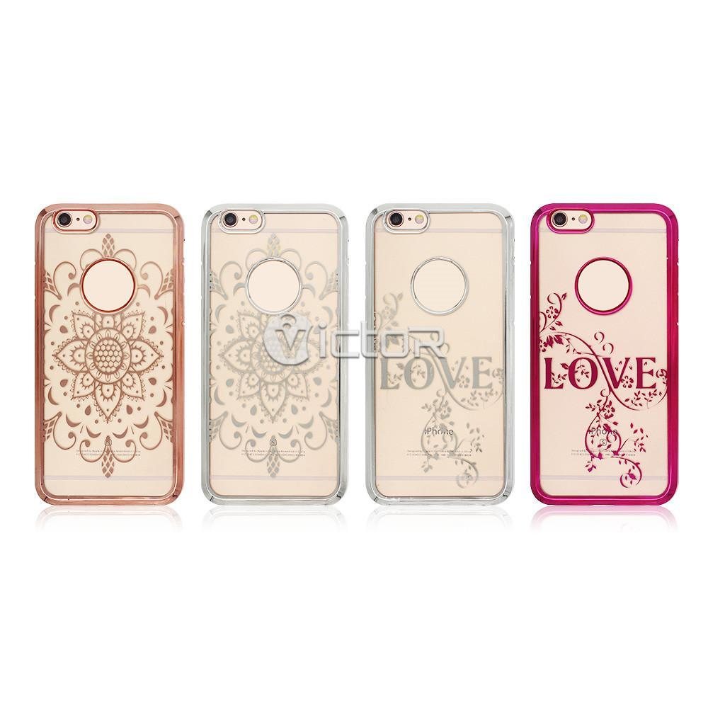 electroplated phone case - tpu phone case - phone case for iphone 6 - (10)