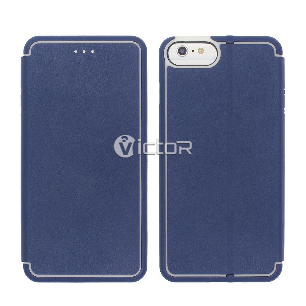 leather iphone 6 plus wallet case  - iphone 6 plus leather case - wallet leather case -  (1)