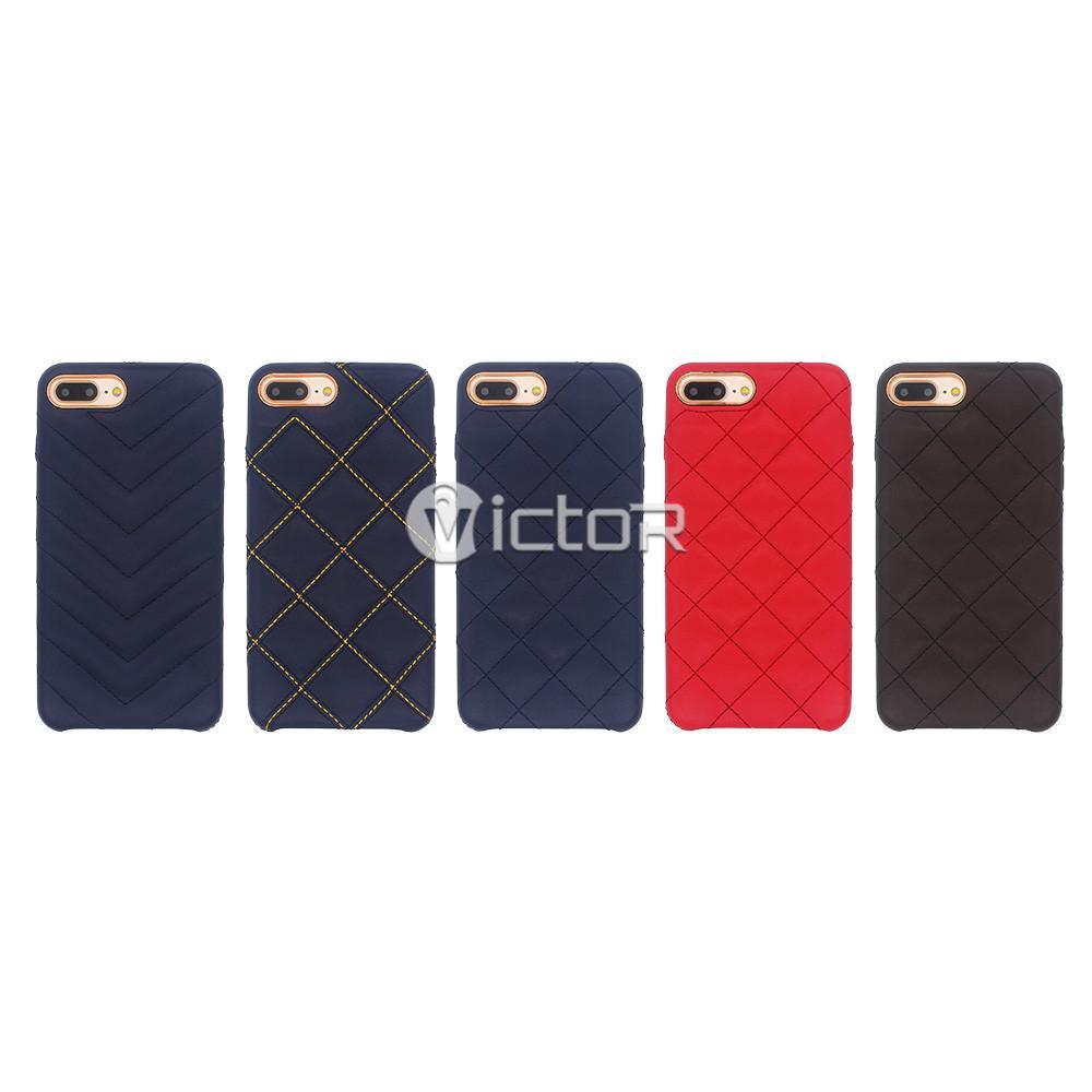 iPhone 7 plus slim leather case - slim leather case - leather phone case for iphone 7 plus - (7)