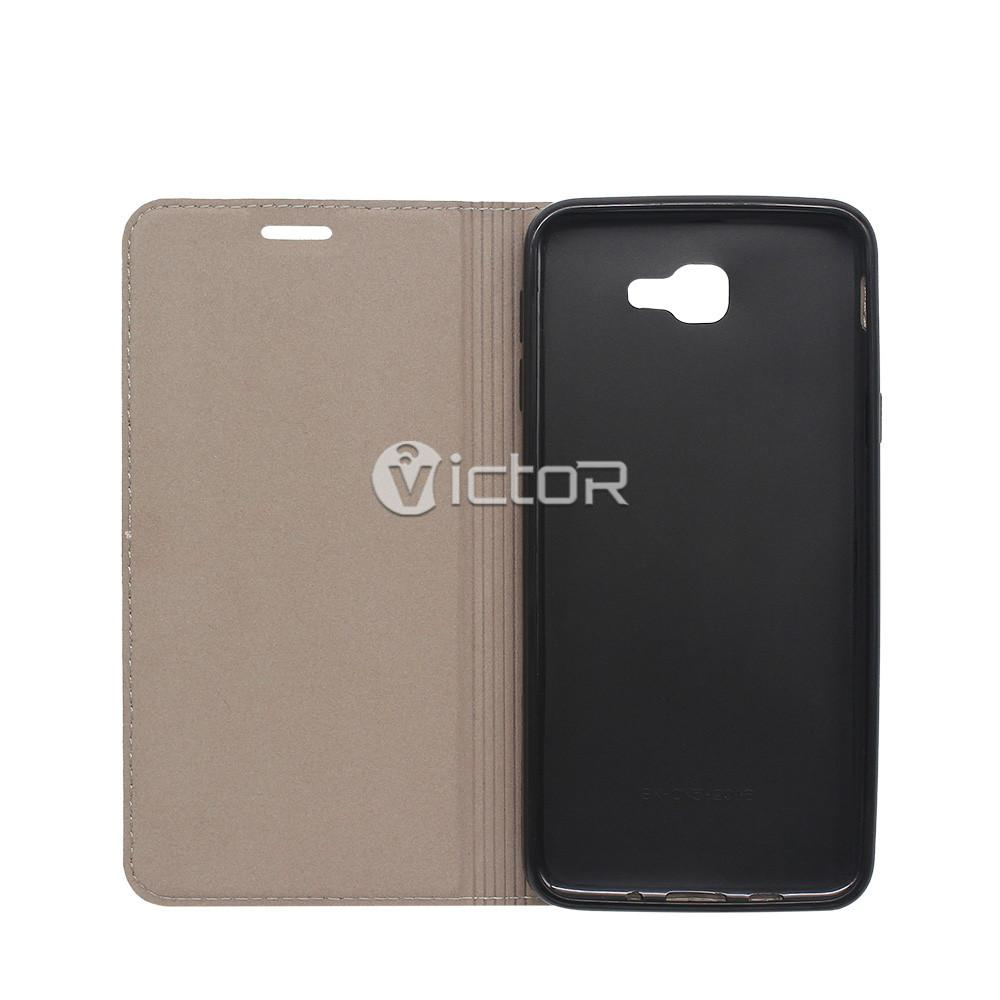 wallet Samsung On5 2016 case - samsung wallet leather case - wholesale leather phone case - (4)