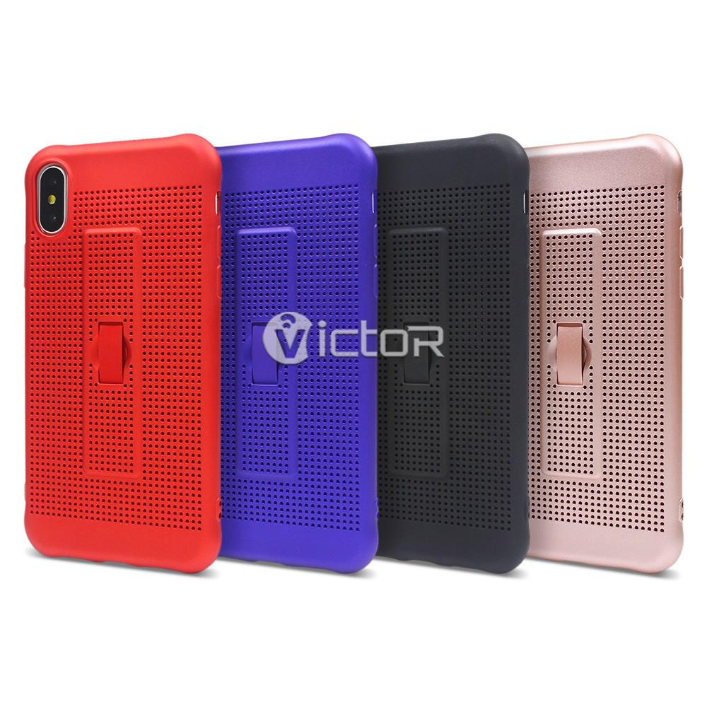 heat dissipation phone case - iphone x tpu case - protective iPhone x case - (7)