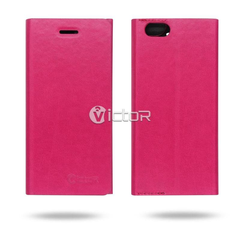 Victor Pure Color PU Simple Style Leather Case for iPhone 6