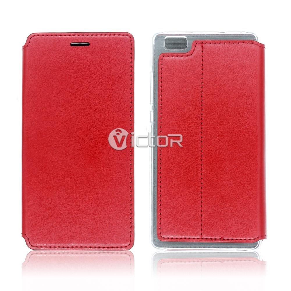 Victor PU Flip cuero Samsung Galaxy s7 teléfono cubre