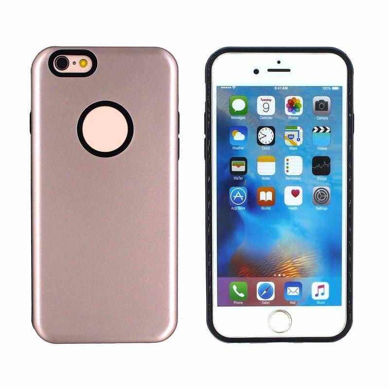 Victor conejo piel caja del teléfono móvil para el iPhone 6
