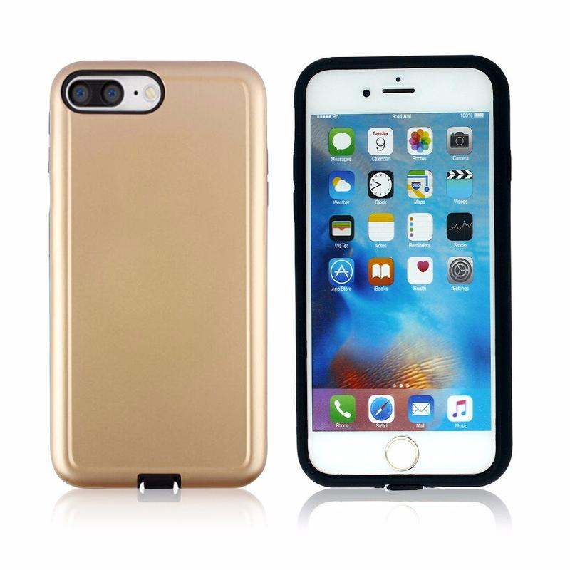 Victor Classic Simple TPU and PC 2in1 Gummy Case for iPhone 7