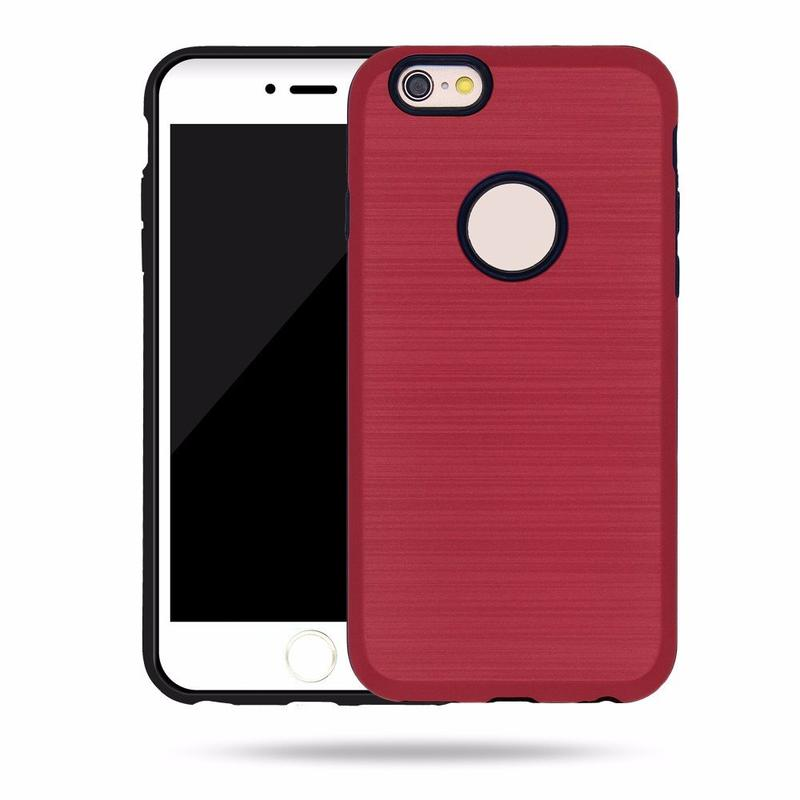 Victor Best Quality TPU&PC Cool Armor Laser iPhone 6 Phone Cases