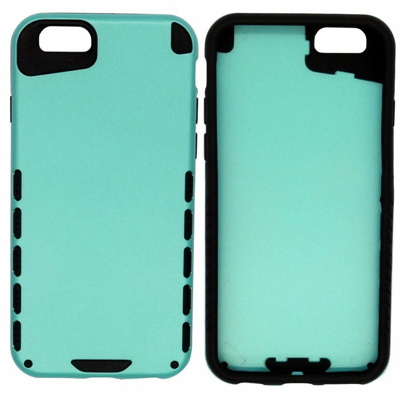 Victor de color puro caso combinado para la protección del iPhone