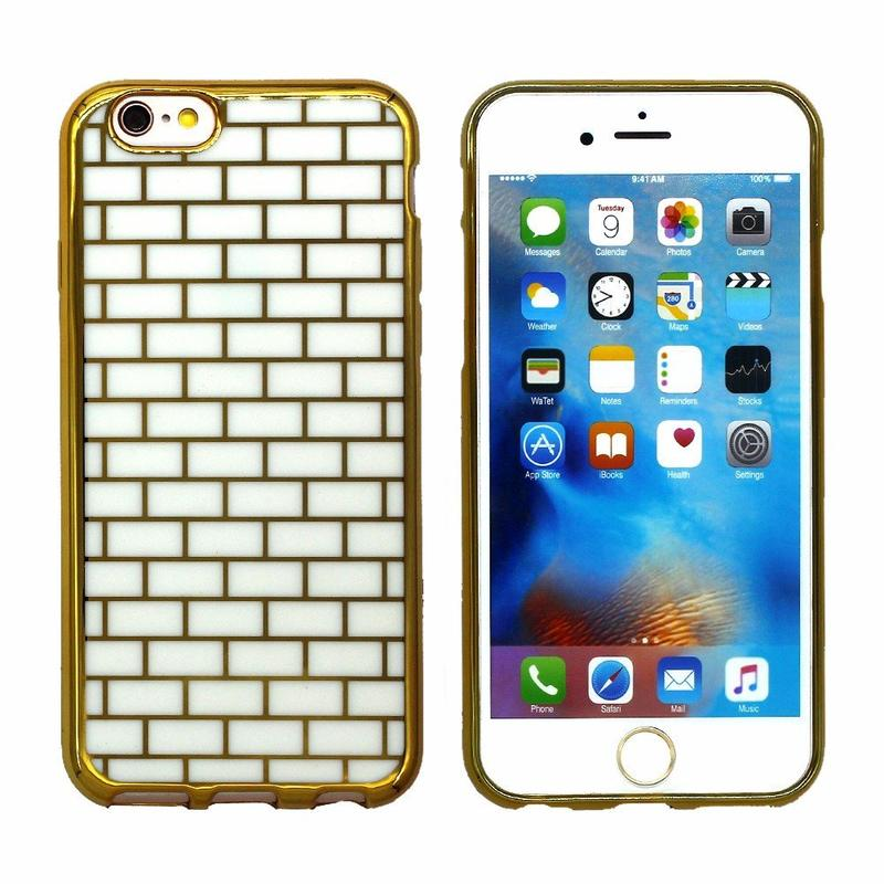 Victor Golden Brick TPU Phone Case for iPhone 6s