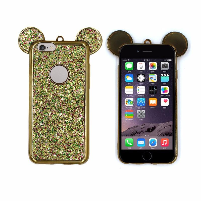 Victor Pretty Micky Ears TPU Phone Cases for iPhone 6s