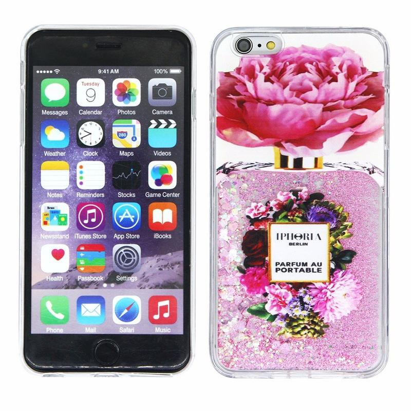 Victor TPU Custom Pattern Liquid Phone Case for iPhone 6s