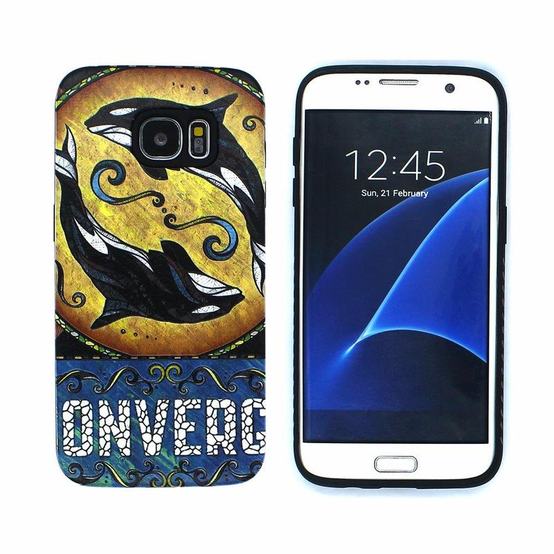 Victor 3D Embossed Printing Best Case for Samsung Galaxy S7 Edge