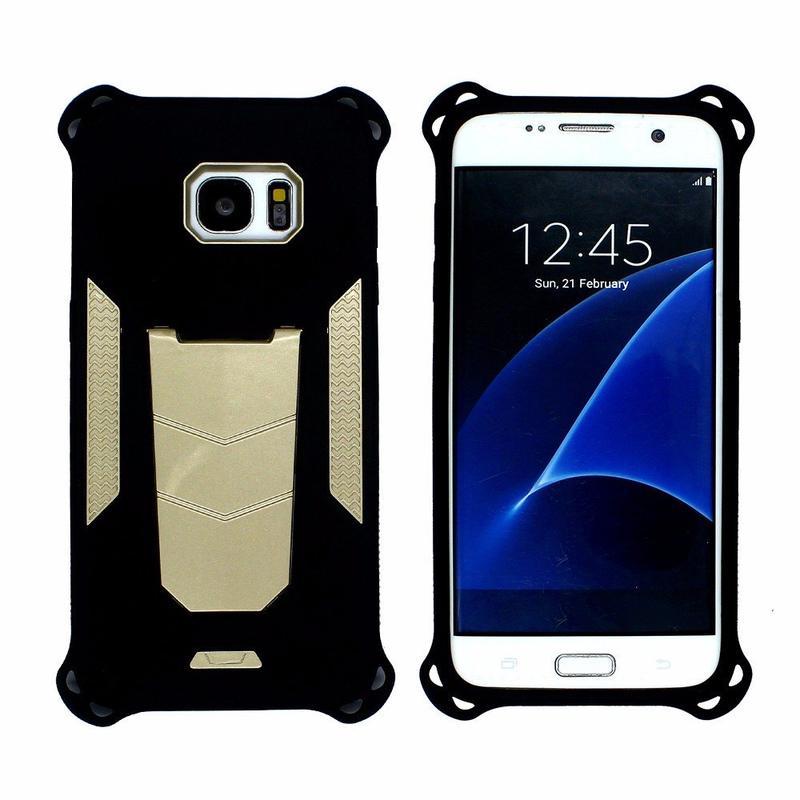 Victor  Cool Design Kickstand Case for Samsung S7 Edge