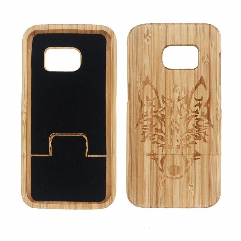 Victor Hot Sale Best Hard Wood Phone Cases for Samsung Galaxy S7