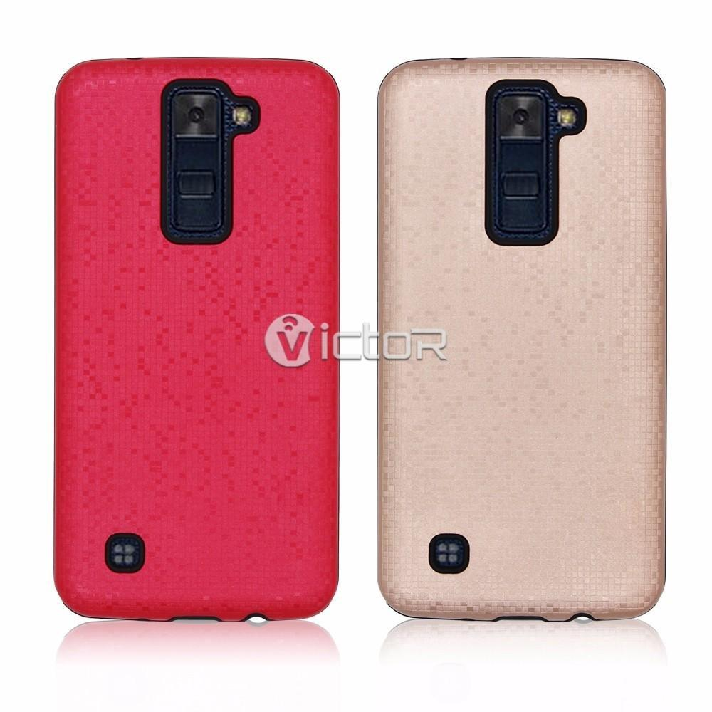 Victor Fashion 2in1 Mosaic LG K8 Combo Phone Case