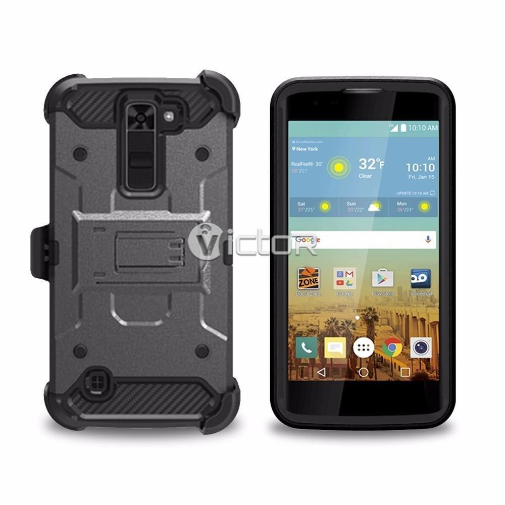 Victor New Arrival Warrior Combo Phone Cases for LG
