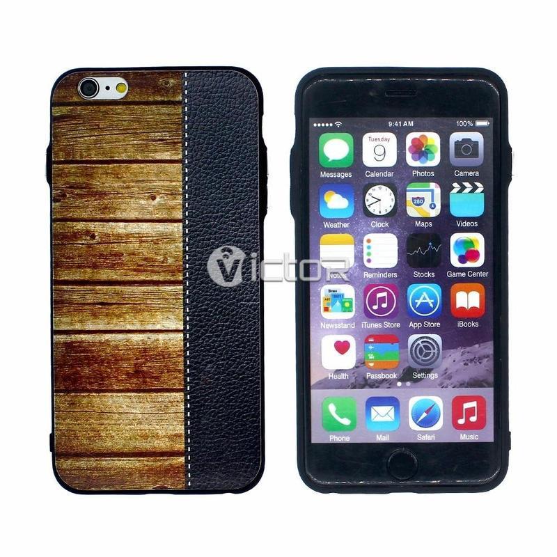 Victor en relieve casos de teléfono celular para iPhone 6 Plus