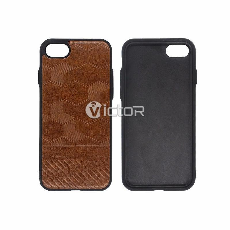 Victor Luxury Leather Cover iPhone 7 Cases for Wholesale