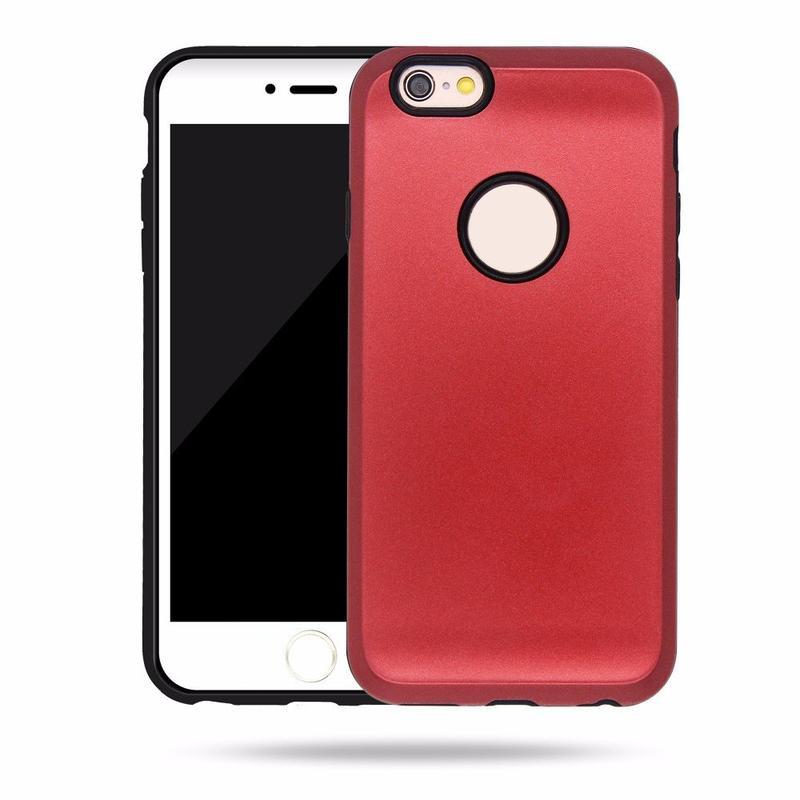 Cajas del teléfono celular Popular Victor New iPhone 6 con Protector de cámara fuertes