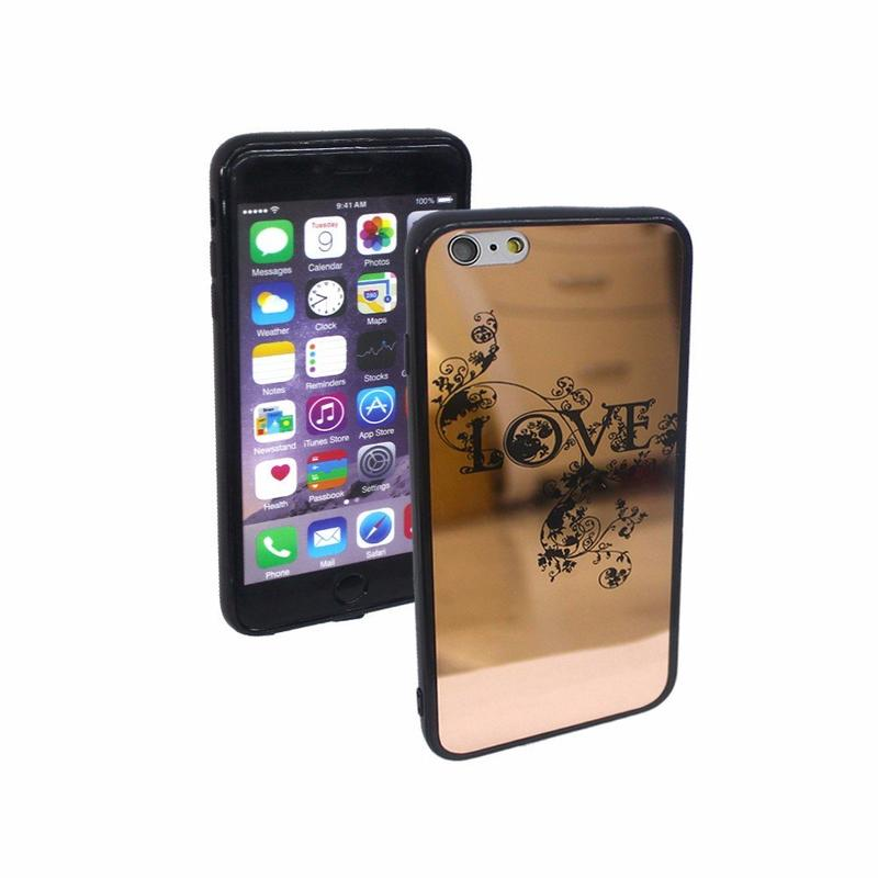 Victor Customizable Electroplated Mirror iPhone 6 Case