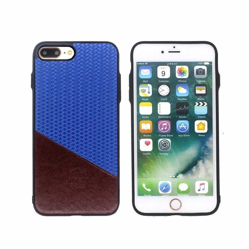 Estuche protector para el iPhone 7 más pegado Hit Color cuero