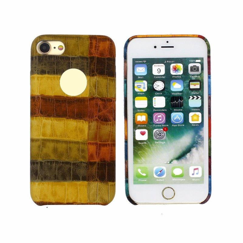 Mixed Colors Leather Case for iPhone 7