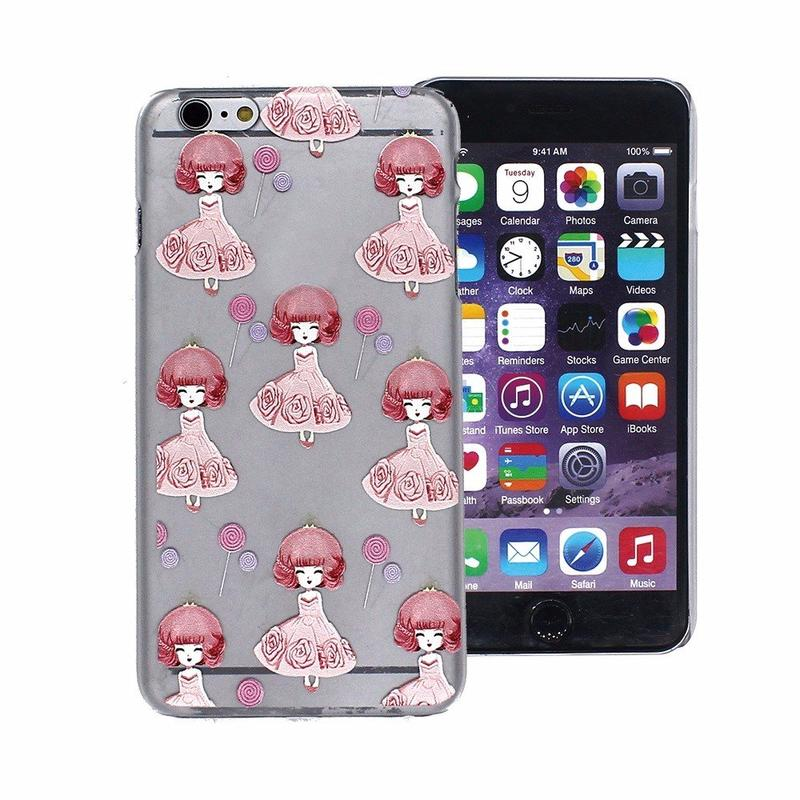 iPhone 6 Plus Painted Relief Sculpture Protector Smartphone Case