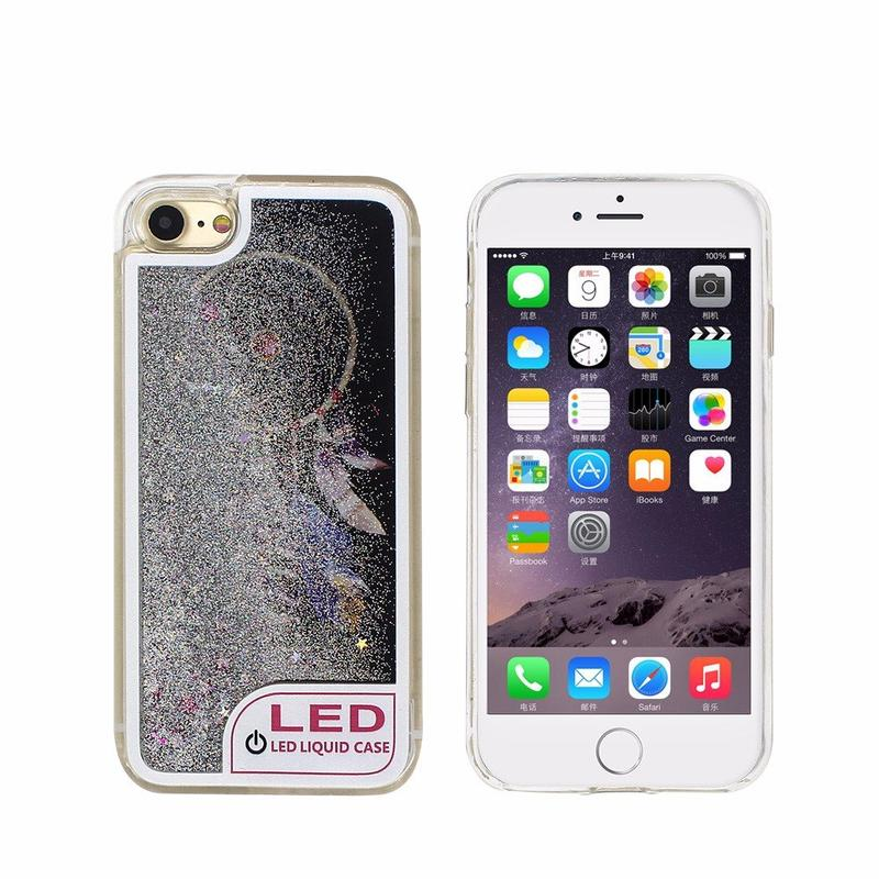 iPhone 6 Quicksand Case with LED Lights