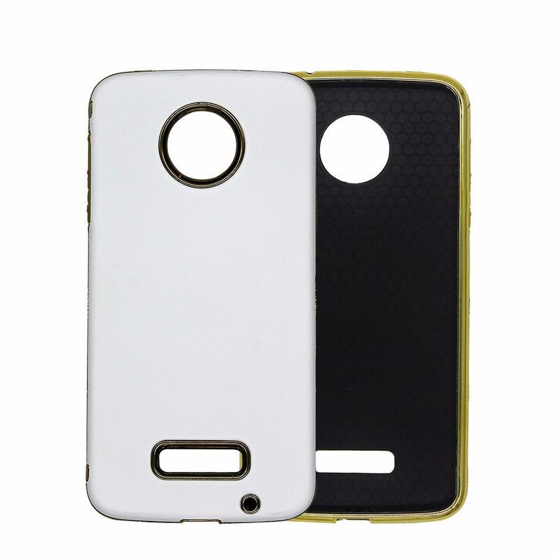 Functional TPU Combo Phone Case for Moto Z