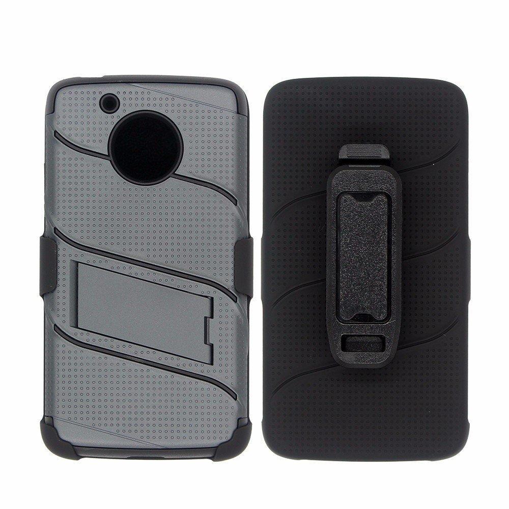 Multi-function Motorola G5 360 Degree Protector Case