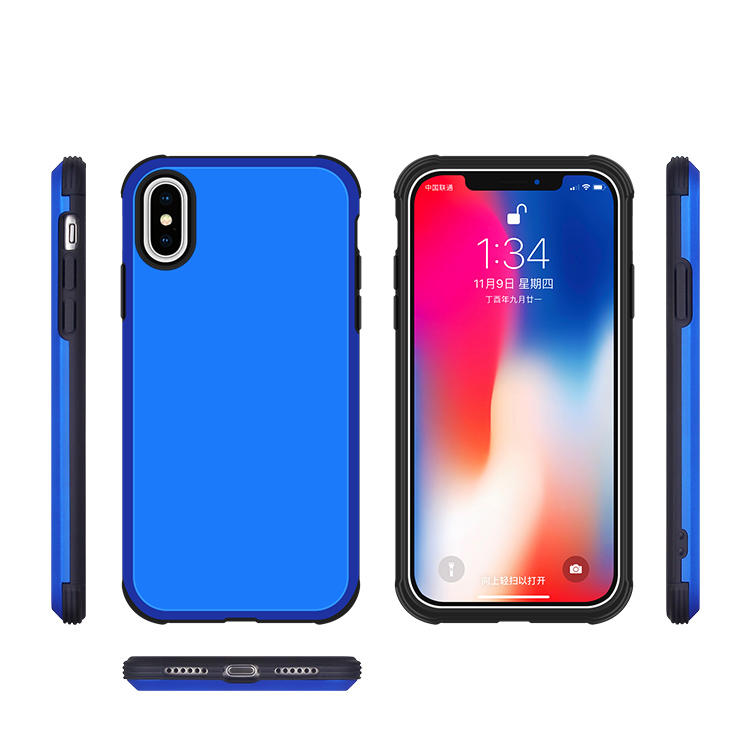 2 in 1 Hybrid Phone Case for IPhone XS Wholesale