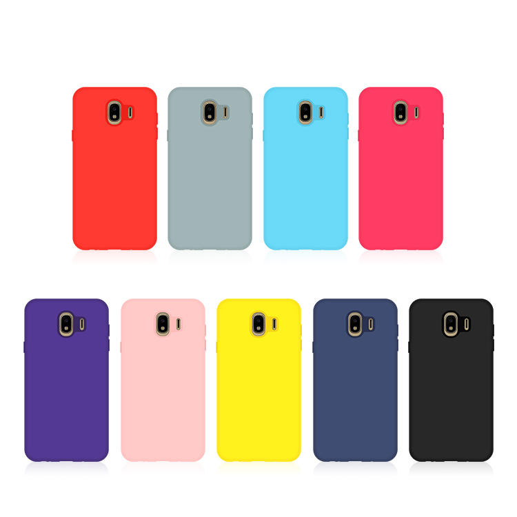 Liquid Silicon Phone Case For Samsung J4 Wholesale