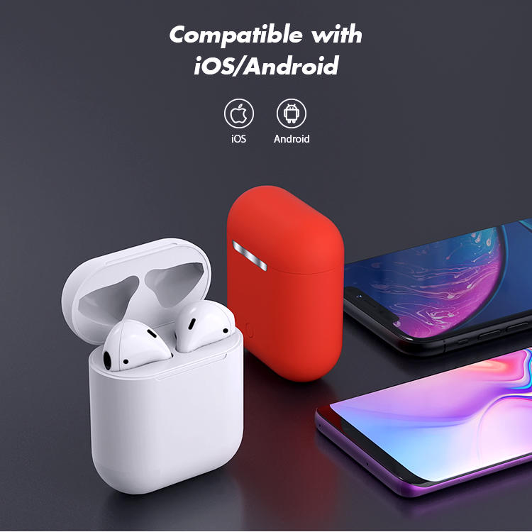 Bluetooth Earphone i12 Tws Earphone Compatible with IOS And Android