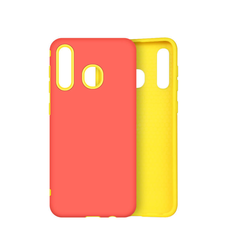 Hybrid TPU PC 2 IN 1 Phone Case for Samsung A30 A50  with invisible kickstand