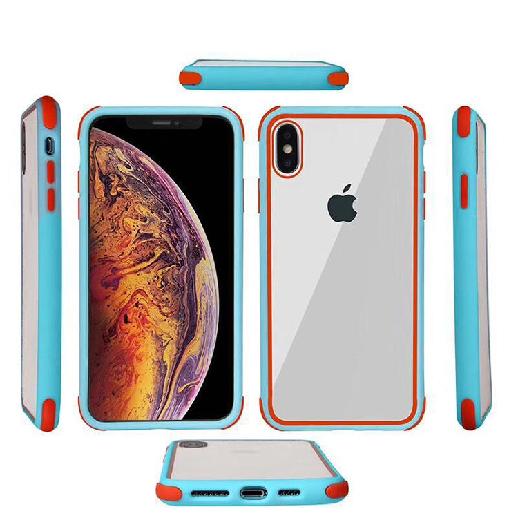 Shockproof High Clear Case for iPhone X XS