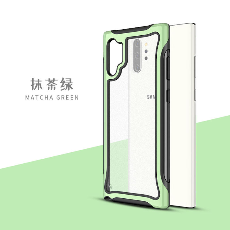 New Design Shockproof Hybrid Clear Case for Samsung Note 10 pro