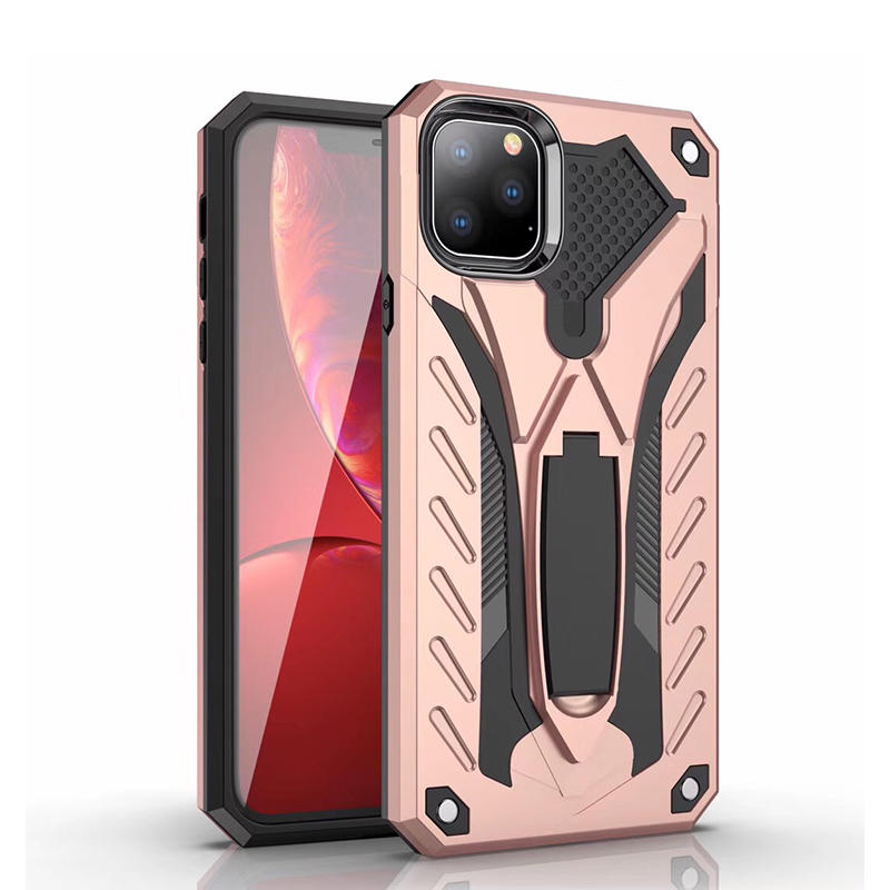 Protective TPU PC iPhone 11 Case with invisible Kickstand