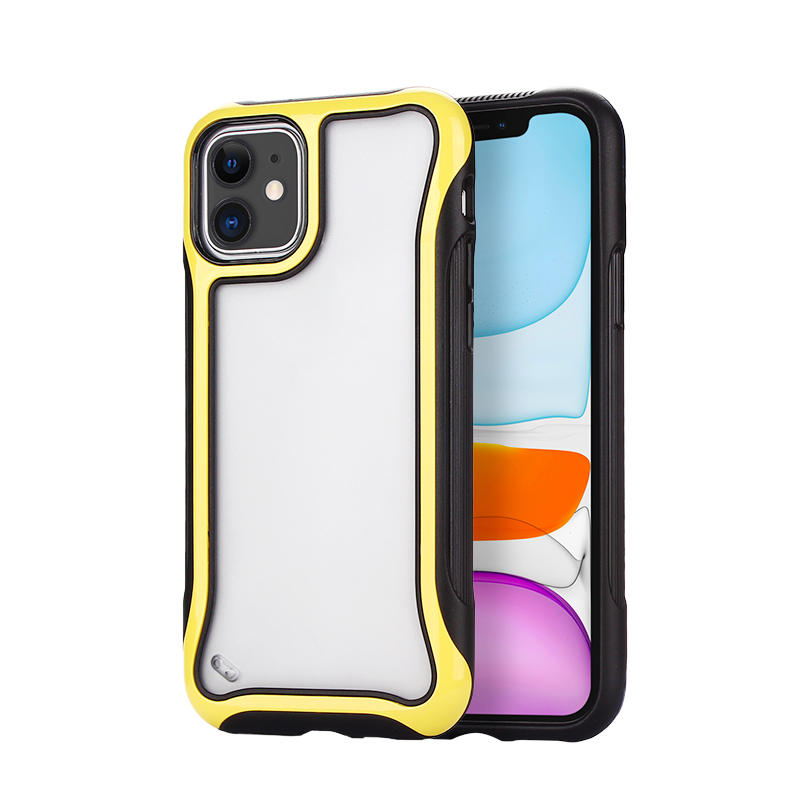 Drop-proof Shockproof Clear Mobile Phone Shell for iPhone 11