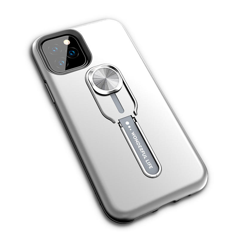 Best seller 2 in 1 phone case for iPhone 11 with Ring bracket