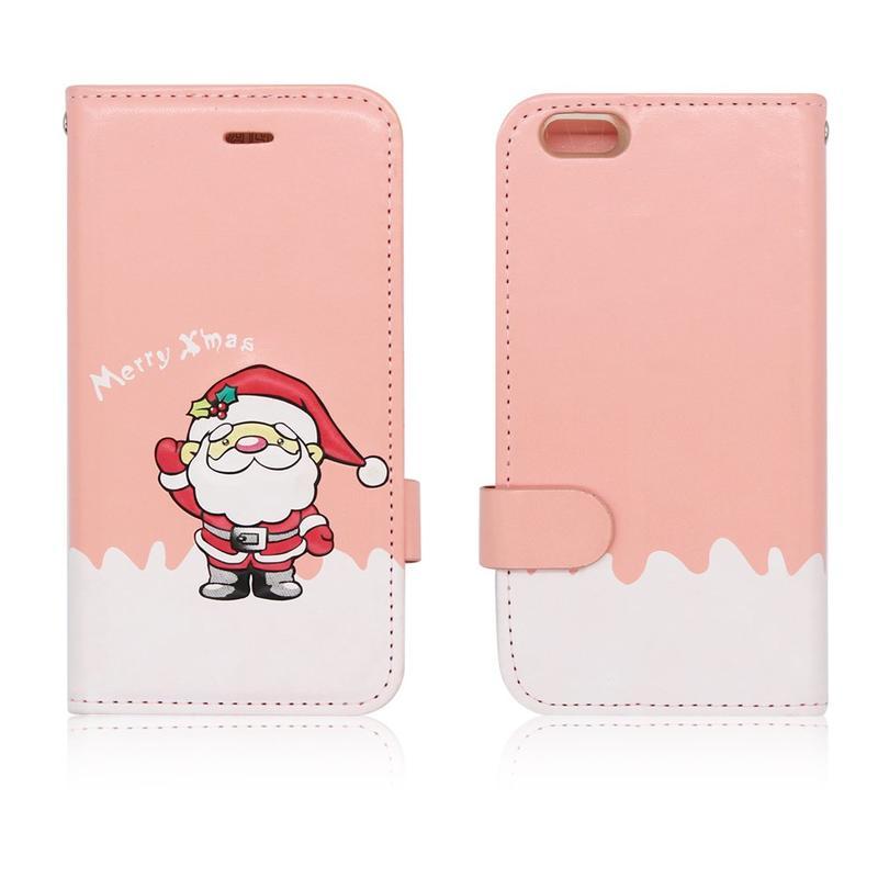 Victor VI-LC-151009 PU serie Navidad Flip Case iPhone 6