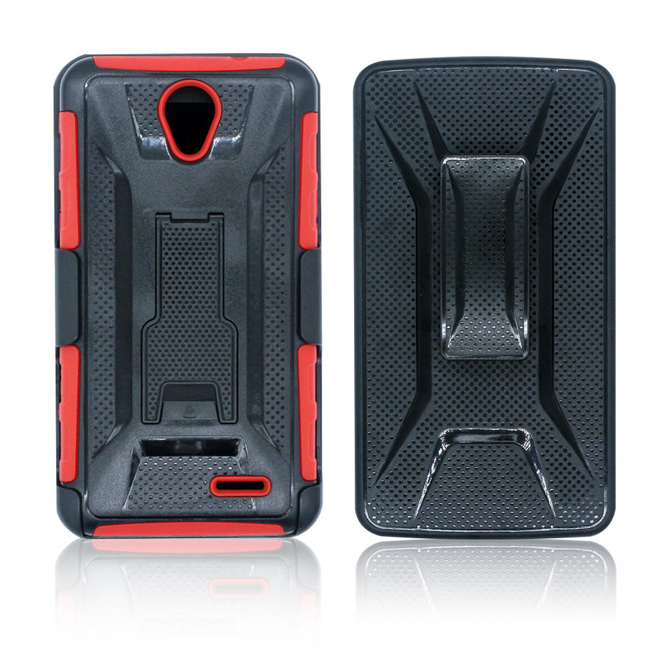 Victor VI-CASO-X1608183 TPU + PC 360 ° funda protectora con caja de seguridad para ZTE Avid Plus