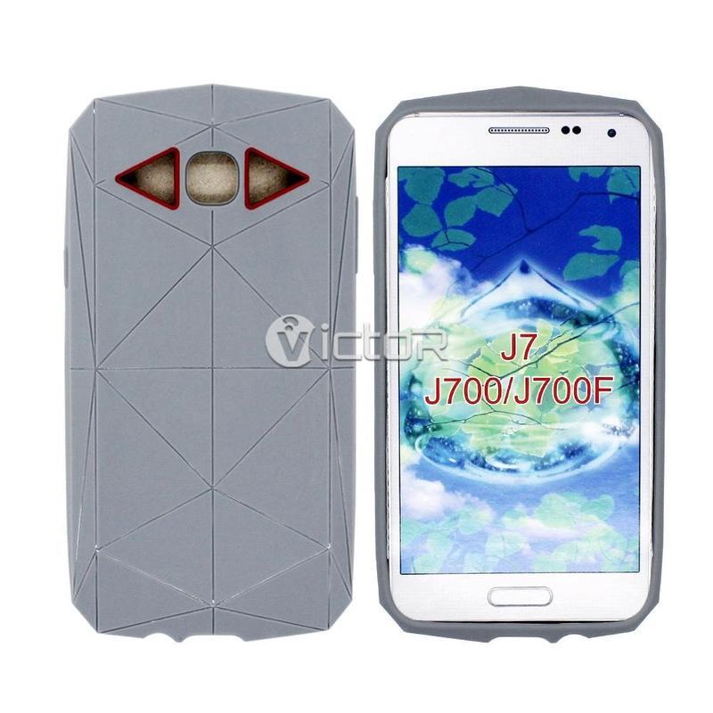 Víctor VI-TPU-003 Kingkong suave de TPU para Samsung Galaxy J7