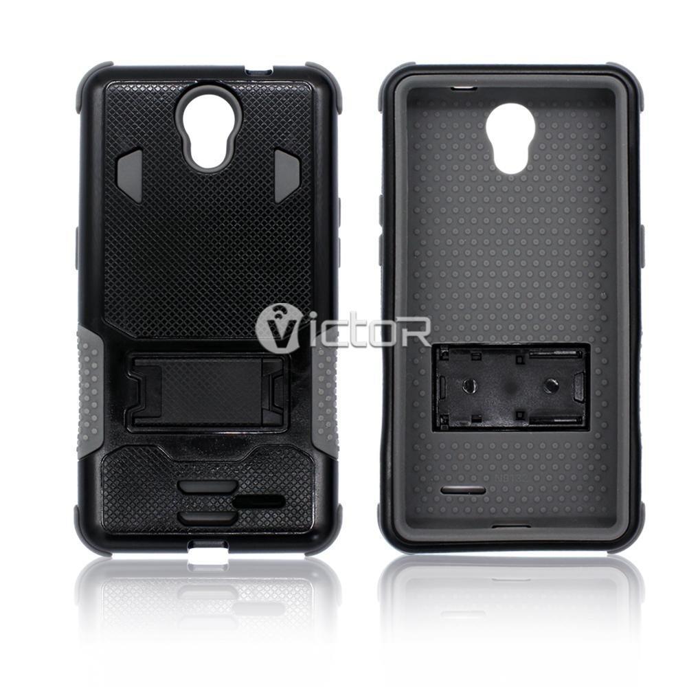 Victor VI-CASO-001 TPU + PC 3 en 1 Robot caso de la pata para ZTE Avid Plus