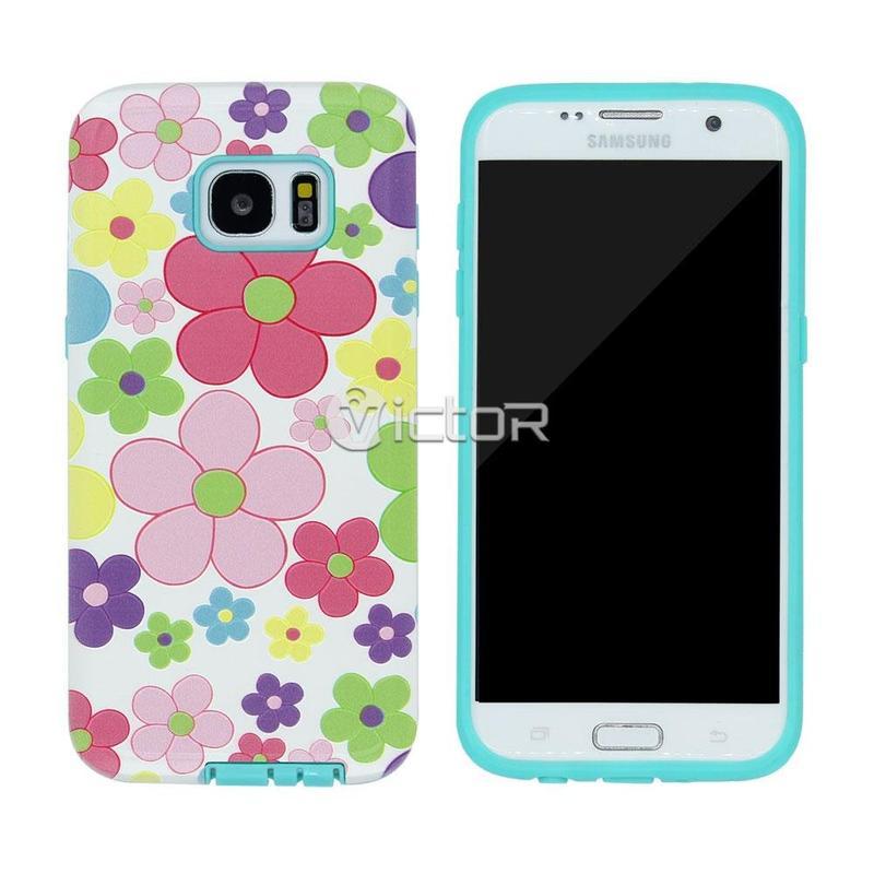 Caso TPU + PC Victor VI-caso-X169024 para Samsung S7 borde