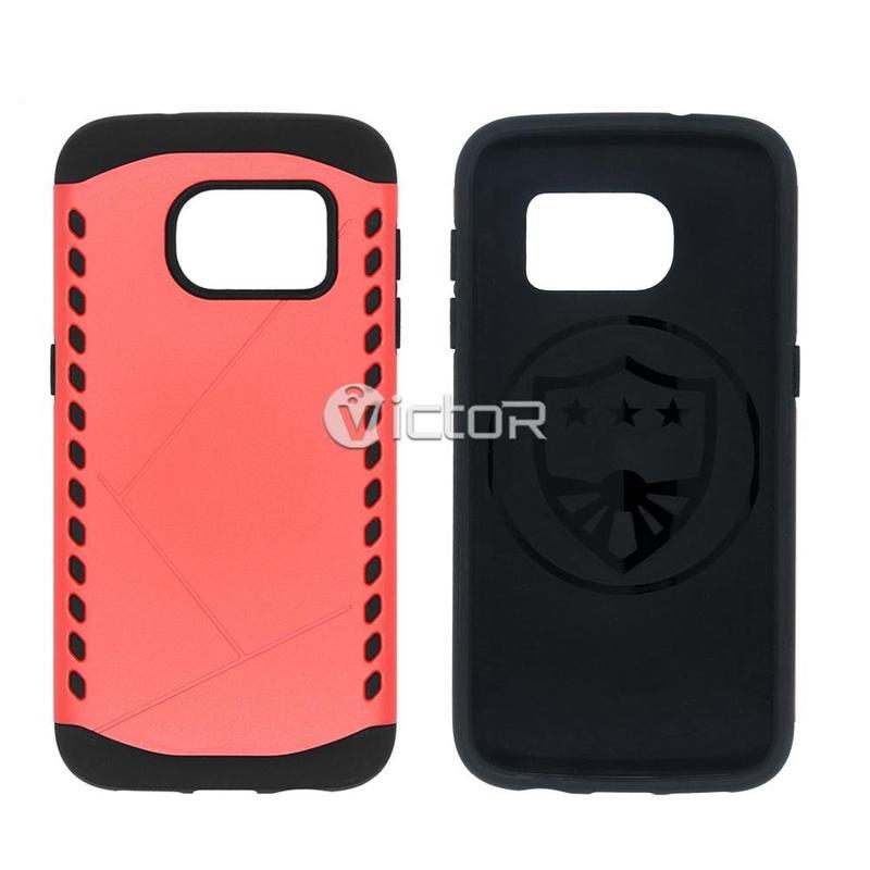 Victor VI-caso-X169072 PC + TPU para Samsung S7