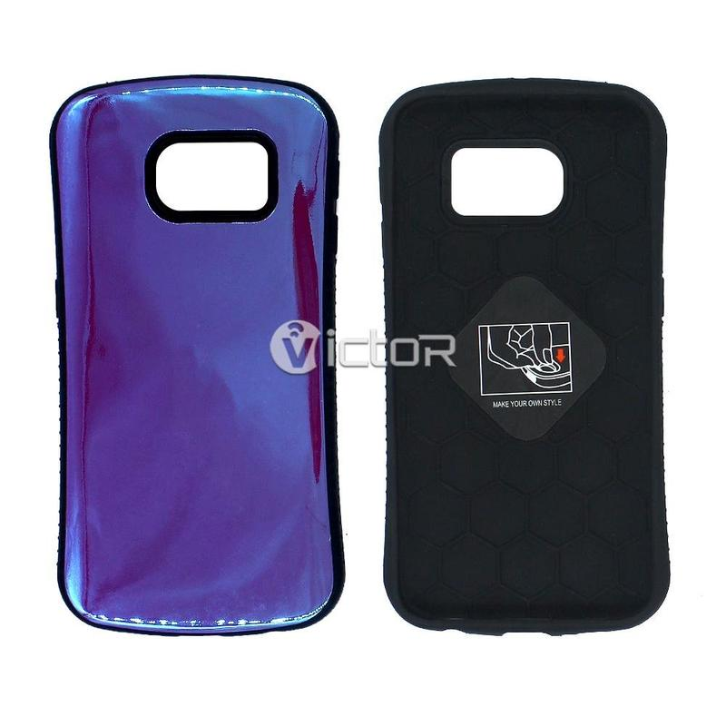 Victor VI-caso-X169071 TPU + PC iFace del diseño para Samsung S6 borde