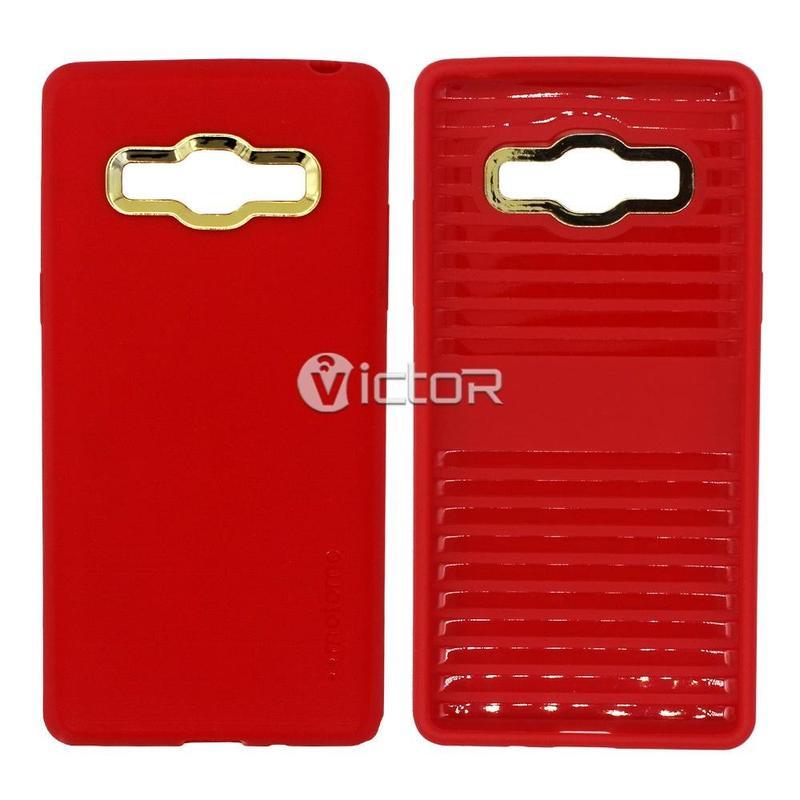 Victor VI-caso-X169293 PC + TPU para Samsung G530