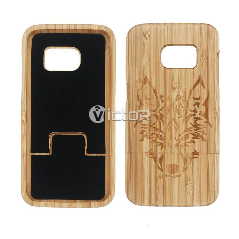Funda de cuero universal de Victor VI-madera-K032