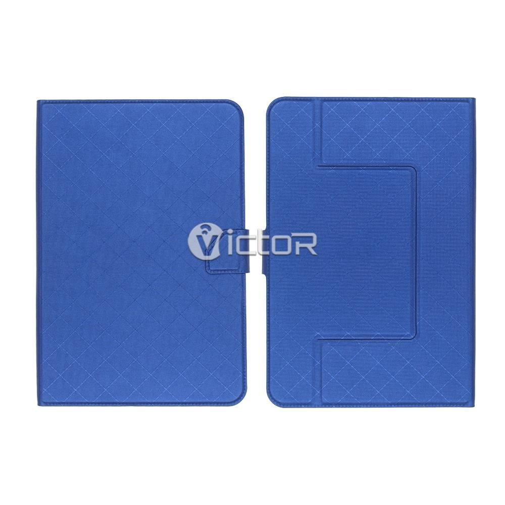 Victor VI-LC-014 rejilla Diseño universal PU estuche de cuero para Tablet