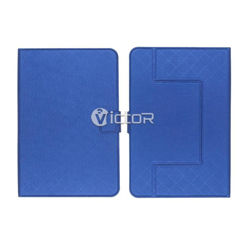 Victor Universal Grid Design PU Leather Case for Tablet
